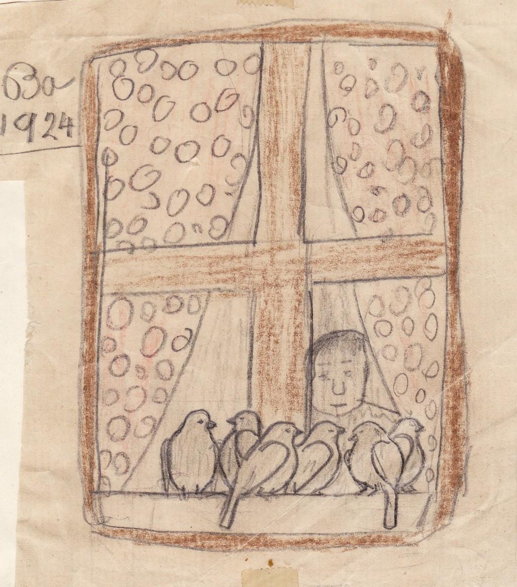 1. Ba 1924 eldste bevarte tegning - Kopi