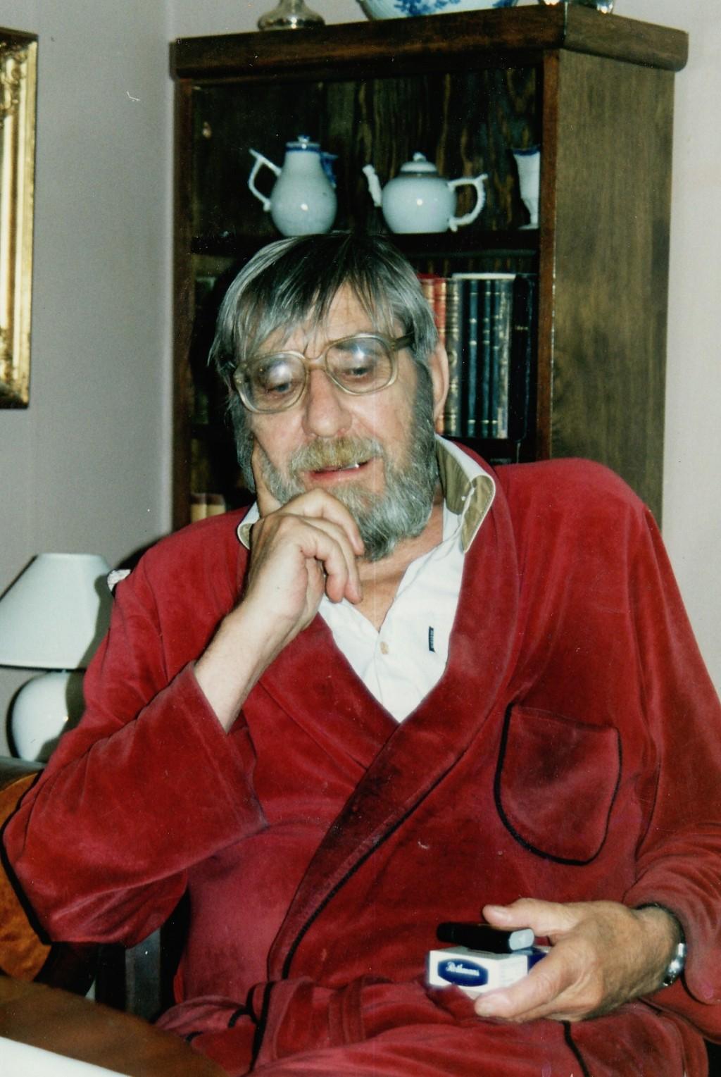 30. Fredrik Stabel i sitt hjem, 2000