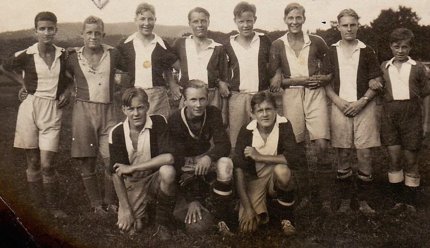 4. Fredrik fotballspiller ca 1926